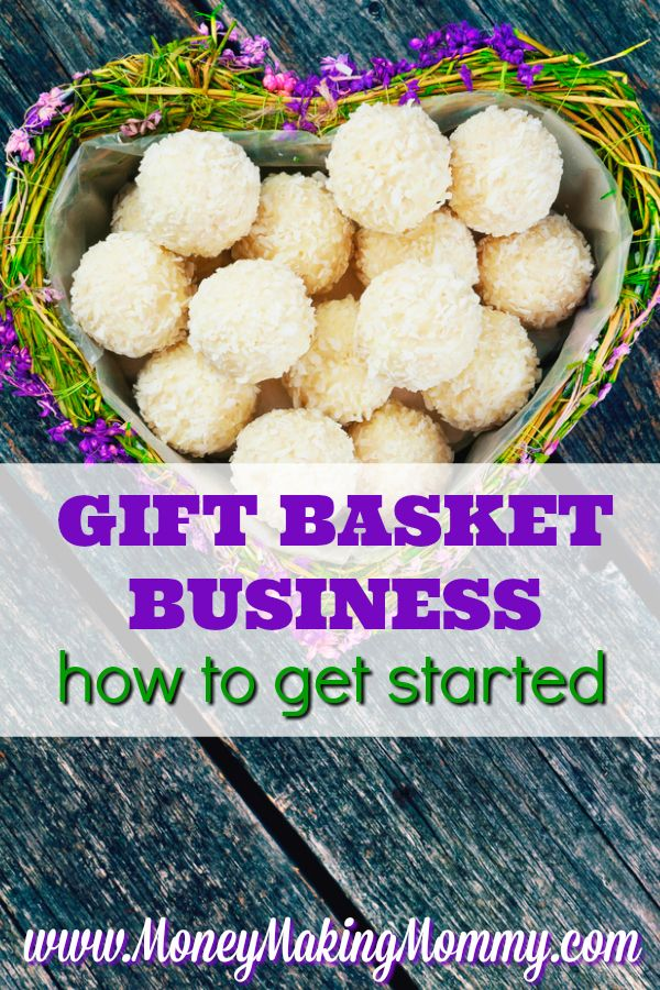Home Business Idea: Start your own gift basket business. MoneyMakingMommy.com