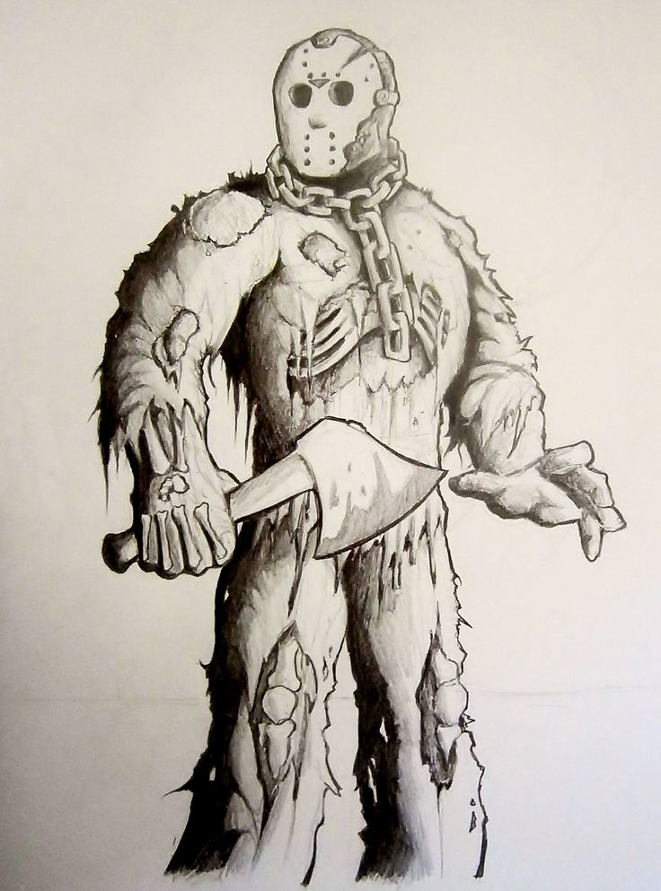 Jason Voorhees from Friday the 13th Part 7 The New Blood played by Kane Hodder.