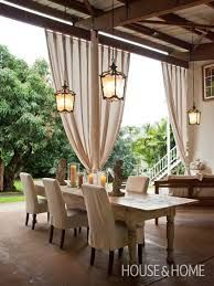 Image result for dramatic drapes dining room