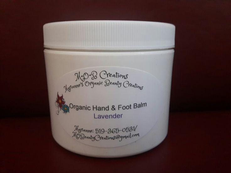 Organic Lavender Hand & Foot Balm