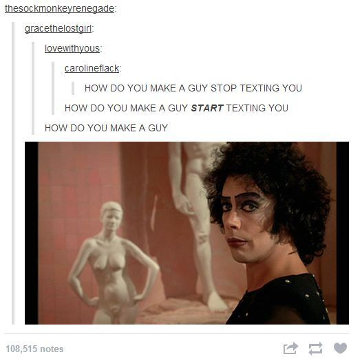 Rocky Horror Picture Show Quotes Tumblr: Make A Guy Rocky Horror Picture Show Tumblr
