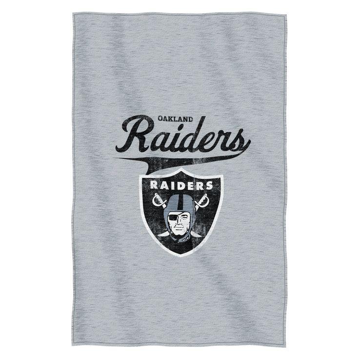 NFL Raiders Throw Blanket