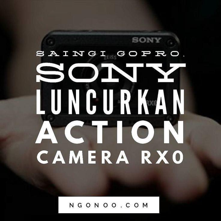 https://ngonoo.com Untuk menyaingi kompetitornya yakni GoPro Sony baru saja meluncurkan action cam baru bernama Sony RX0.  Sony RX0 sendiri memiliki dimensi 6140630.5mm dan berat hanya 1106 g. Selain memiliki fitur tahan air Sony RX0 juga diklaim tahan banting dan mampu bertahan jika dijatuhkan dari ketinggian 2 meter.  Sony RX0 dibanderol seharga850 Euro atau sekitar Rp 134 jutaan.