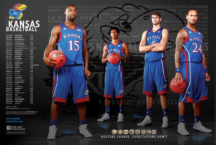 2012-2013 kansas men's basketball team