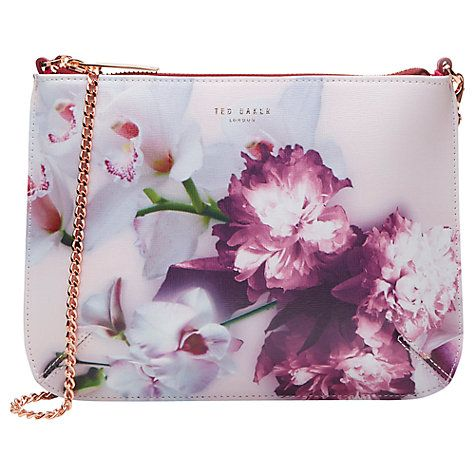 Buy Ted Baker Cailey Ethereal Posie Across Body Bag Online at johnlewis.com