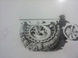 Grafica ritraente rilievo Anconetano/Italian.....higgh relief originary of a storic side of Ancona.