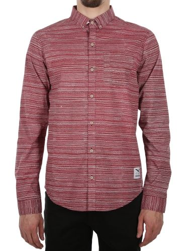 La Banda LS Shirt [maroon] // IRIEDAILY Spring Summer 2015 Collection! - OUT NOW! // SHIRTS - MEN: http://www.iriedaily.de/men-id/men-shirts/ // LOOKBOOK: http://www.iriedaily.de/blog/lookbook/iriedaily-spring-summer-2015/ #iriedaily