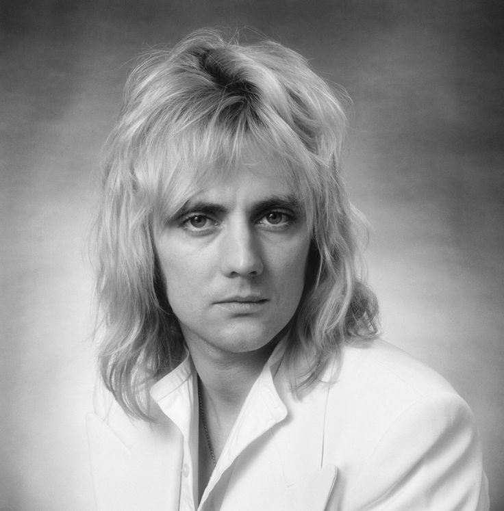 British musician, drummer, singer and songwriter with the rock band Queen, Roger Taylor, photographed in the Studio on 28th October 1976. (Photo by Lichfield/Getty Images).