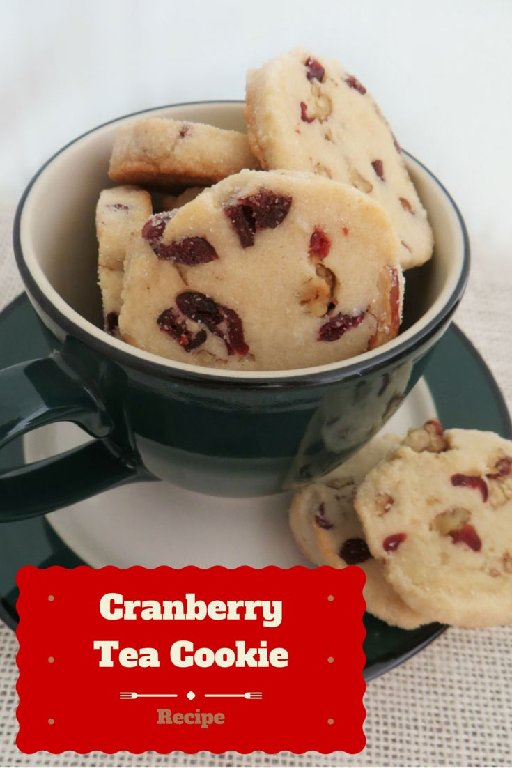 Looking for a delicious recipe for the holidays? Check out our CRANBERRY TEA COOKIES RECIPE here!