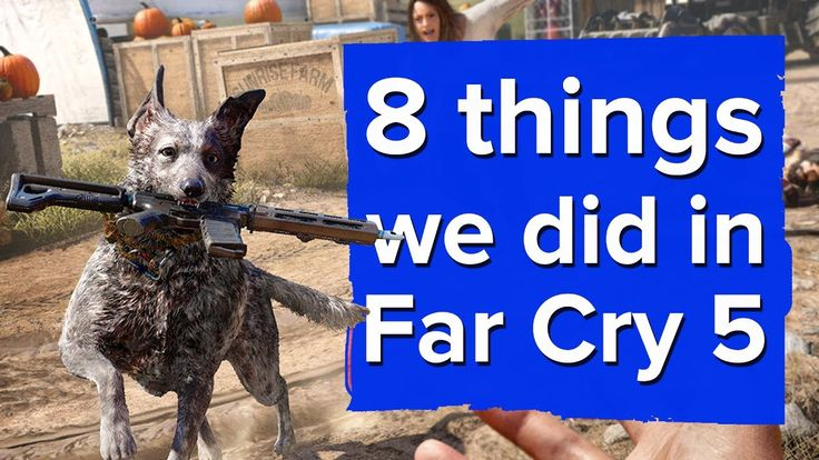 farcry5gamer.com8 New Things We Did in Far Cry 5 - Far Cry 5 Gameplay We've got some Far Cry 5 gameplay to share from E3, after Aoife and Chris played the game's demo for the first time. Here's what they got up to.  Subscribe to Eurogamer -   For the latest video game reviews, news and analysis, check out  and don't forget to follow ushttp://farcry5gamer.com/8-new-things-we-did-in-far-cry-5-far-cry-5-gameplay/