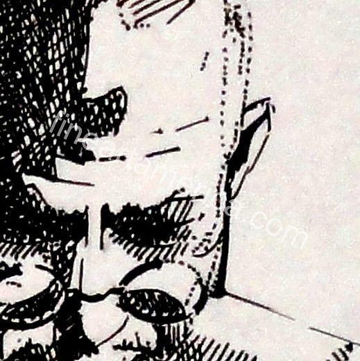 M.k. Gandhi Drawing by Munish Uttam