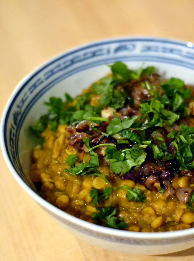 Chana Dal Tadka - Yellow Lentil Curry with Sauteed Onions, Garlic, and Spices   NY Food Journal