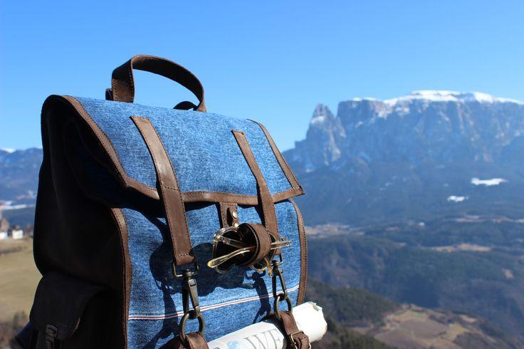 Blue Jeans, soon available  www.kjoreproject.com/backpacks #kjøre #mountains #view #landscape #kjoreproject #vintage #heritage #denim #berto #friends #igers #handmade #wallets #accessories #vibram #shoes #backpacks #denim #canvas #wool #premium #newzealand #natural #evolution #leather #love #minimal #design @kjoreproject
