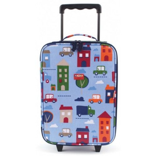 Penny Scallan Wheelie Bag - Big City $80  46cm H x 30cm W x 14cm D