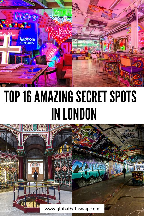 top 16 Amazing Secret Spots In London, England