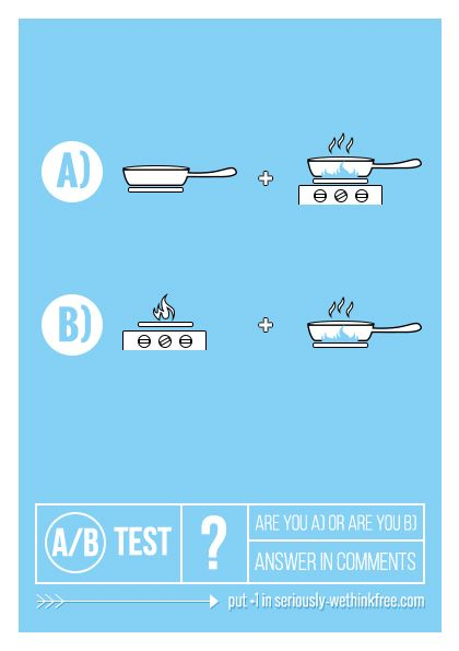 A/B testing of the magazine - which is your preferred way?  #test #ux #fun