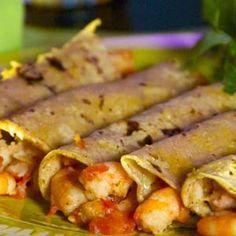 Receta de Tacos de Camarón (Sinaloa)