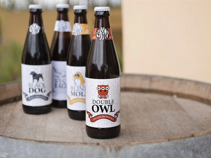 Some of our beer products - http://www.wildclover.co.za/brewery/