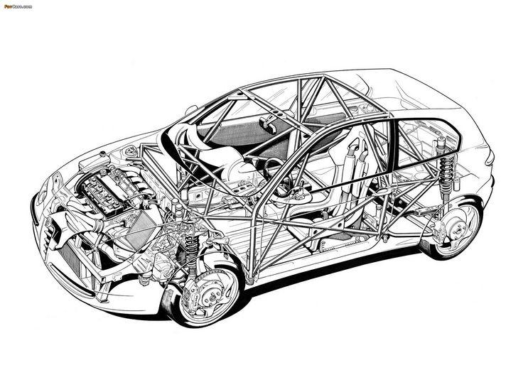 Alfa Romeo 147 Super Produzione Concept SE087 (2000