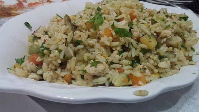Tavuklu Şehriye Salatası Tarifi