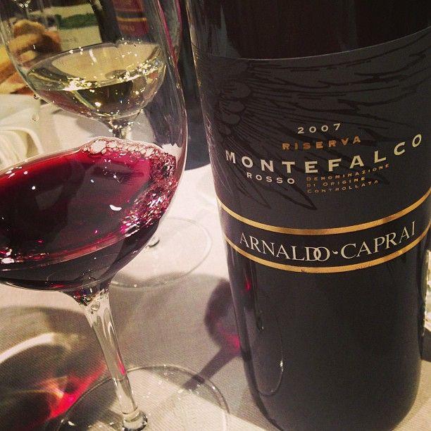 Montefalco rosso @Arnaldo Caprai 2007 - Riserva #inmontefalco foto di @Cristina Bonetti