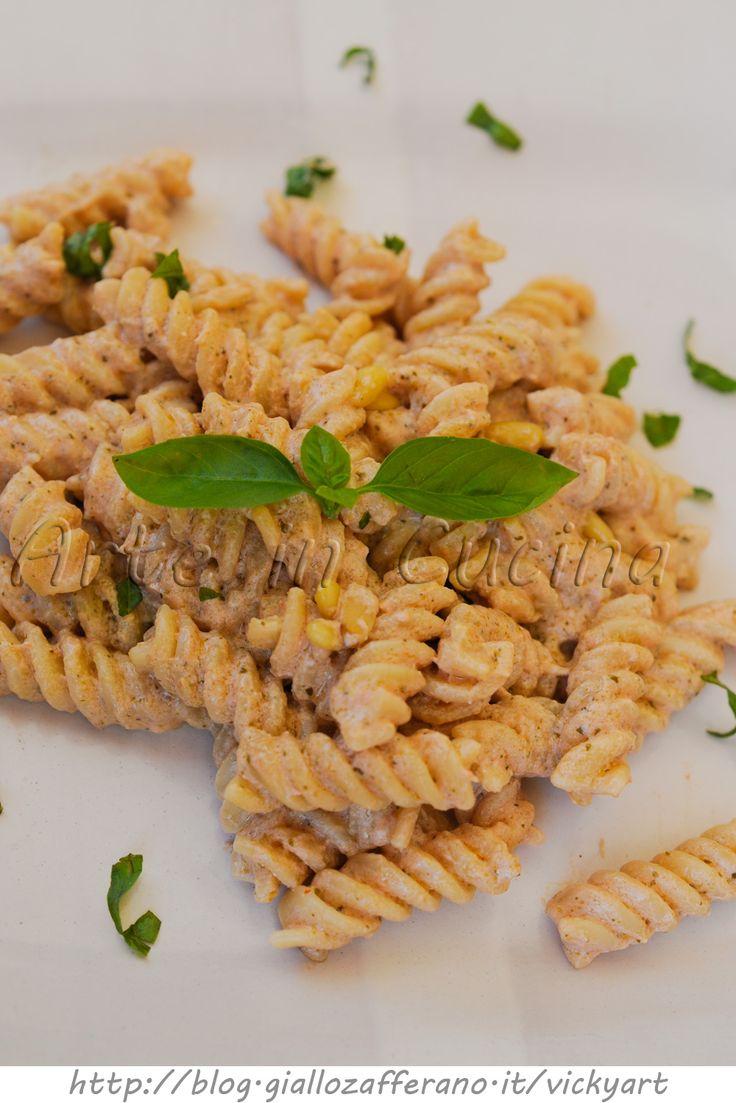 Pesto alla siciliana ricetta pasta veloce vickyart arte in cucina
