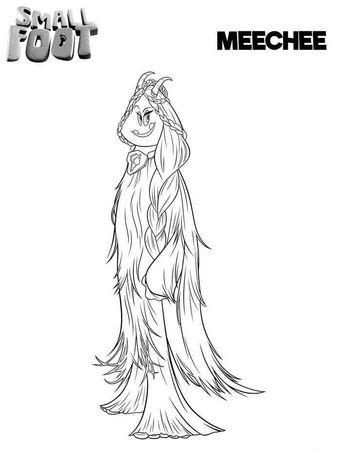 Printable Smallfoot Movie Coloring Pages Free Coloring Sheets Cartoon Coloring Pages Coloring Pages Coloring Pages To Print