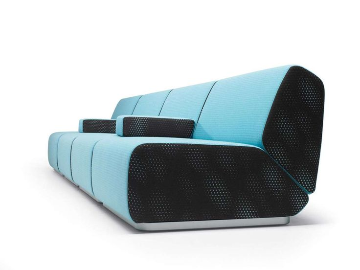 Black and Blue Unique Design of Abcd Sofa ~ http://www.lookmyhomes.com/unique-design-of-abcd-sofa-for-living-room/