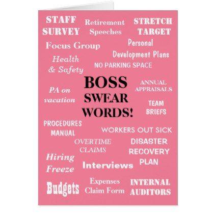 Funniest Female Boss Birthday Joke Add A Caption Card - funny quotes fun personalize unique quote