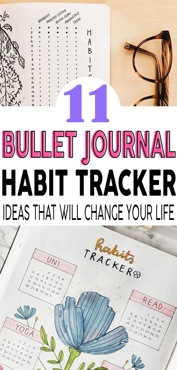 Perfect bullet journal trackers that will change your life, get ideas and inspiration and learn how to be the best at tracking and logging! #bulletjournal