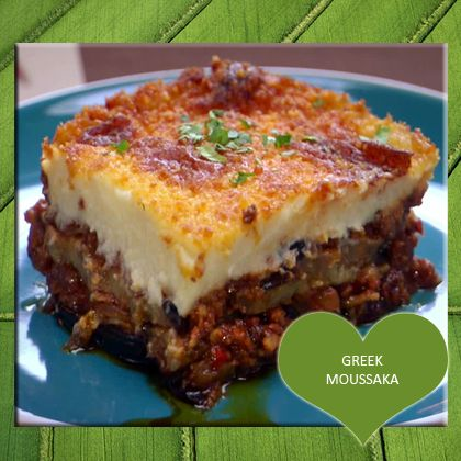 Greek Moussaka Recipe from Mamma's Recipes