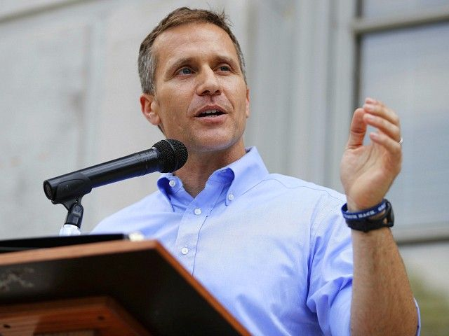 Missouri Governor Eric Greitens sent a letter excoriating his state's two U.S. senators, Claire McCaskill and Roy Blunt.