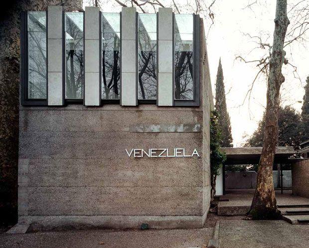 Carlo Scarpa (1906-1978) | il Padiglione del Venezuela | Giardini della Biennale, Castello, 30122 Venezia, Italia | 1953-1956