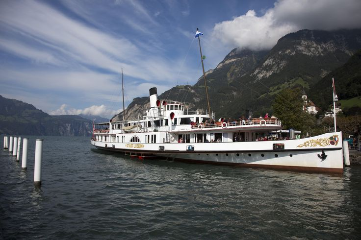 Wilhelm Tell Express boat, Switzerland