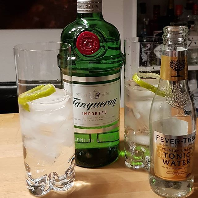 @tanqueraygin Fever Tree Premium Indian Tonic Lim peel. #gintonic #gin #dandywithlens #gt DandyWithLens.com