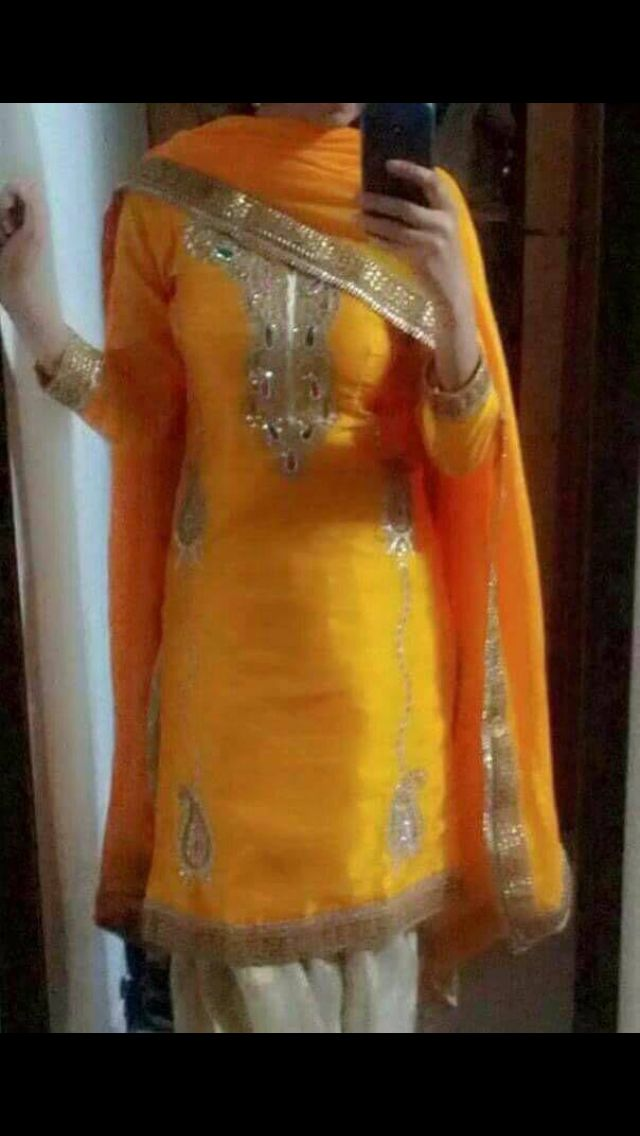 Punjabi suit- get it made at @Nivetas Design Studio.for query kindly whatsapp +917696747289. visit us at https://www.facebook.com/punjabisboutique