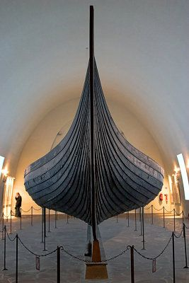 Viking Ships Museum, Copenhagen, Denmark -- What an absolutely beautiful design.