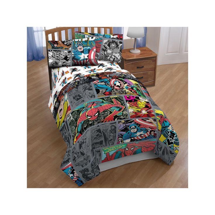 Spider-Man Comforter, Multicolor