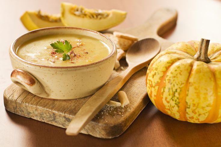 pumpkin soup, vegetarian recipe