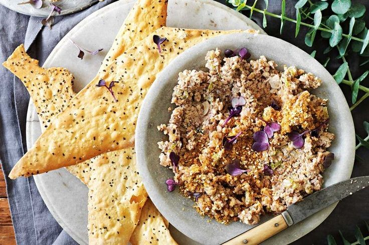 Nutritionist and TV chef Zoe Bingley-Pullin designs light and healthy food with entertaining in mind. This is a protein-rich, vegan pate alternative you'll love.