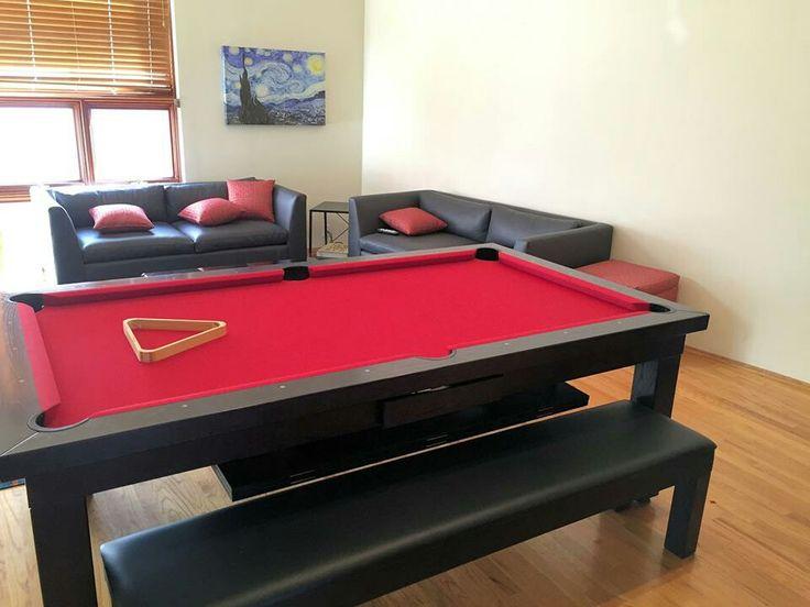 Dining Room Pool Table #DiningRoomPoolTable Www.ChicPool.com Part 58