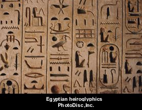 how to read ancient egyptian language