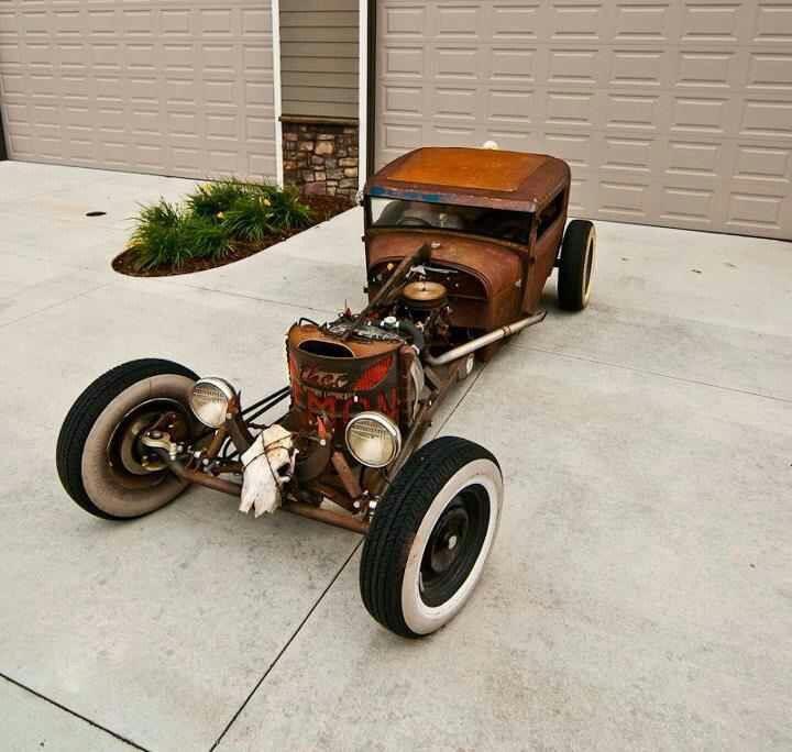297 best Old rat rods images on Pinterest   Rat rods, Vintage cars ...