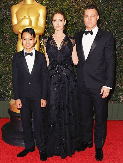 Angelina Jolie and Brad Pitt's eldest son, 13-year-old Maddox, is a production assistant on their upcoming movie By the Sea -- see what Jolie told DuJour about his role on set