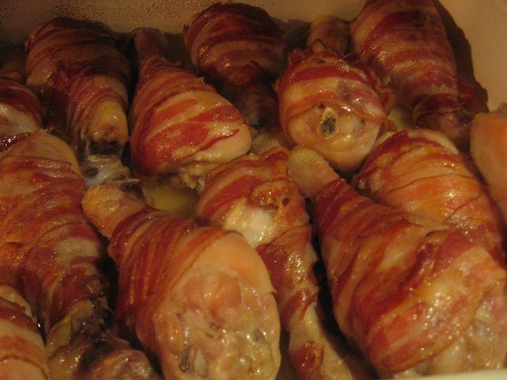 Pulpe in bacon