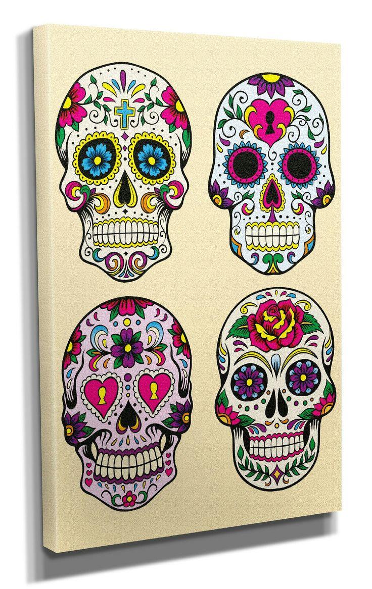 Tatouage tete de mort mexicaine signification fashion - Tableau tete de mort castorama ...