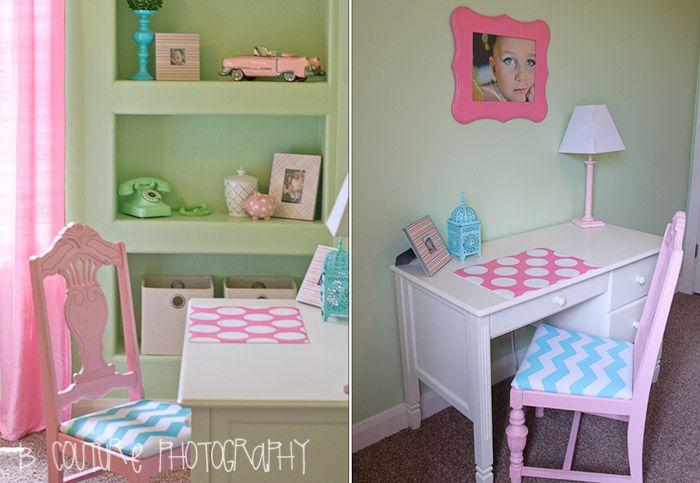 Polka Dot and Chevron Girl's Room!
