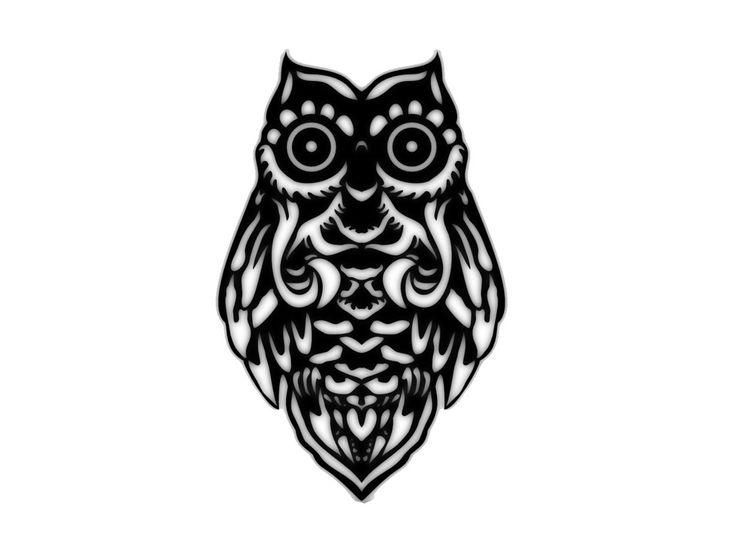 Tribal-Owl-Tattoos.jpg (1280×960)