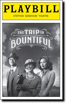 The Trip to Bountiful Playbill Covers on Broadway - Information, Cast, Crew, Synopsis and Photos - Playbill Vault