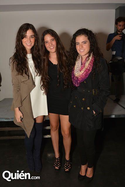 Karla Laveaga y las hijas del Potrillo en evento fashionista